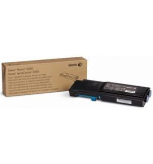 106R02249 Тонер-картридж Xerox синий (Cyan) на Phaser 6600/ WC 6605 ресурс 2000 стр.