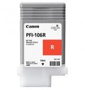 PFI-106R (Red) [6627B001] Картридж с чер...