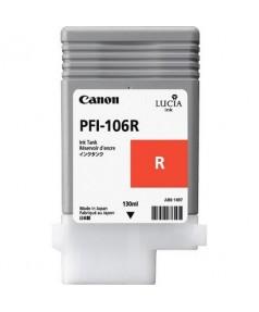 PFI-106R (Red) [6627B001] Картридж с чернилами для плоттера Canon iPF6400/6450 (130 мл)