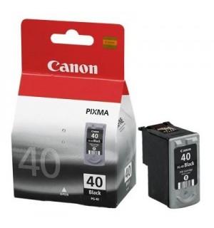 PG-40 [0615B025] Черный картридж к Canon Pixma MP140/MP150/ MP160/ MP170/ MP180/ MP190/MP210/MP220/ MP450/ MP460; iP1200/ iP1300/ iP1600/iP1800/ iP1700/ iP1900/ iP2200/iP2500/iP2600/iP6210/ iP6220 (16 мл.)