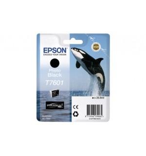 T7601 (C13T76014010) Картридж EPSON фото-черный для печати на глянцевых носителях. SureColor / SC-P600 (25,9мл.)