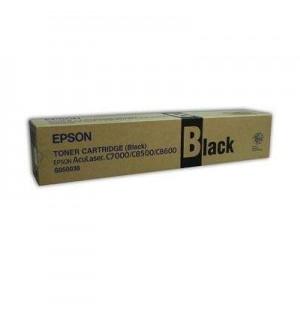 S050038 Тонер-картридж для Epson AcuLaser C8500/ 8600 Black (5500стр.)