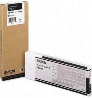 T6061 / T606100 Картридж для Epson Stylus Pro 4800/ 4880, Photo Black (220мл.) (C13T606100)