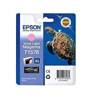 T1576 / T15764010 OEM Картридж EPSON Stylus Photo R3000 Vivid Light Magenta