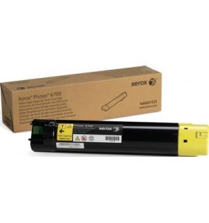 106R01525 Тонер-картридж к Xerox Phaser 6700 (12 000 стр.) Yellow