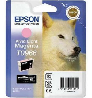 T0966 / T09664 Картридж EPSON Stylus Photo R2880 Vivid Light Magenta (Epson UltraChrome K3 Vivid Magenta)