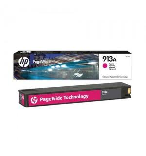 F6T78AE HP 913A Картридж Magenta (Пурпурный) 3000 стр, Pagewide 352/377/452/477 & P55250/MFP P57750