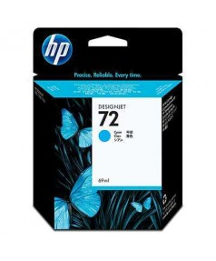 C9398A HP 72 Картридж голубой для плоттеров HP DesignJet T610/ 620/ 770/ 790/ 795/ 1100/ 1120/ 1200/ 2300 (69 ml)