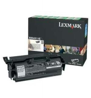 X654X11E Картридж для МФУ Lexmark X654DE/ X656DTE/ X658DFE/ X658DME/ X658DTFE/ X658DTME 36K