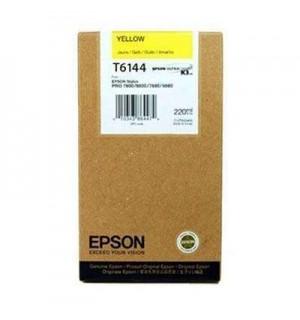 T6144 / T614400 Картридж для Epson Stylus Pro 4400/ 4450 Yellow (220 мл.)