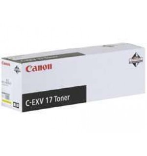 C-EXV17/GPR-21 [0259B002] Yellow Тонер-туба к копирам Canon iRC 4080i / iRC 4580i