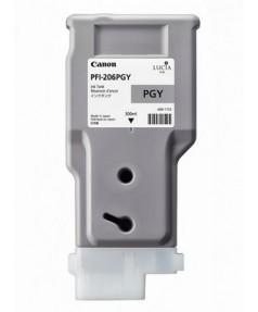 PFI-206PGY (Photo Grey) [5313B001] Картридж с чернилами для плоттера Canon iPF6400/6450 (300 мл)