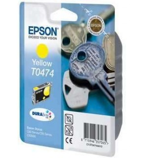 T0474 / T04744A Картридж для Epson Stylus C63/C65/C83, CX3500/CX6300 Yellow (250стр.)