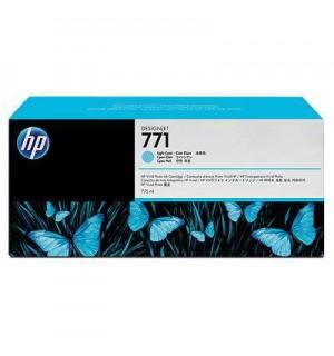 B6Y12A/ CE042A HP 771 Картридж светло-голубой для плоттера HP DesignJet Z6200, Z6600, Z6800 (775 ml)