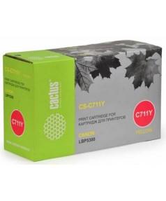 Canon Cartridge 711Y Совместимый Картридж Cactus CS-C711Y для Canon LBP-5300, LBP5360, MF8450, MF928