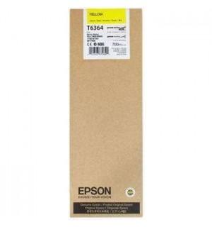 T6364 / T636400 Картридж для Epson Stylus Pro 7700/7890/7900/9700/9890/9900 Yellow ( 700 ml )