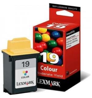 15M2619E №19 для Lexmark Z705/ Z715, P706/ P707/ P3150, X4250/ X4270, F4250, F4270 Color МАЛОГО ОБЪЕ