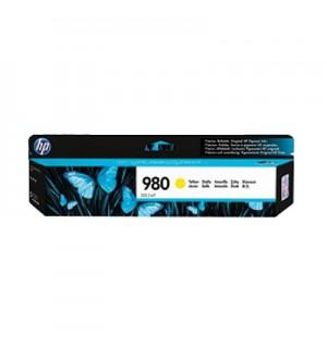 D8J09A HP 980 Картридж струйный желтый для HP Officejet Enterprise Color X585/X555 (6600стр.)