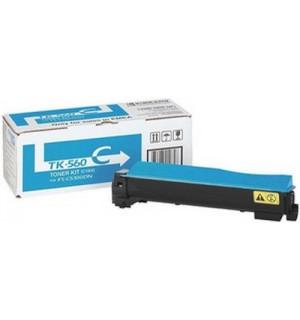 TK-560C [1T02HNCEU0] Тонер-картридж для Kyocera FS-C5300DN, FS-C5350DN, Cyan  (10 000 стр.)