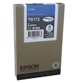 T6172 / T617200 Картридж синий EPSON High Capacity для B500/ B-510DN