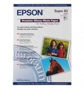 S041316 Бумага Epson Premium Glossy Photo Paper, A3+, 255г/ м2 (20 л.)