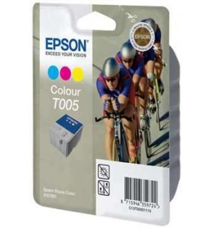 T005 / T005011 Картридж для Epson Stylus Color 900/ 980 цветной  (570 стр.)