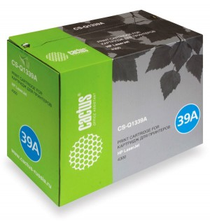 Q1339A совместимый Картридж Cactus CS-Q1339A для HP LJ 4300 (16000 стр.)