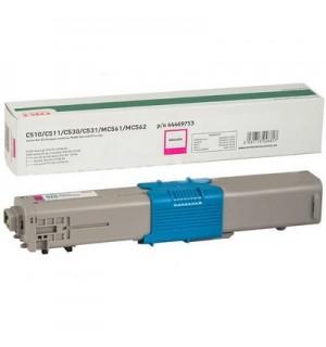 44469753/44469723 Пурпурный тонер-картридж для C510/530/MC561 и С511/531/MC562 на  5,000 стр. A4
