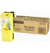 TK-820Y [1T02HPAEU0] Тонер-картридж для Kyocera Mita KM-C8100DN, Yellow 7 000cтр.