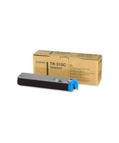 TK-510C Тонер-картридж Kyocera FS-C5020N/ 5025N/ 5030N голубой, 8000стр. [1T02F3CEU0]