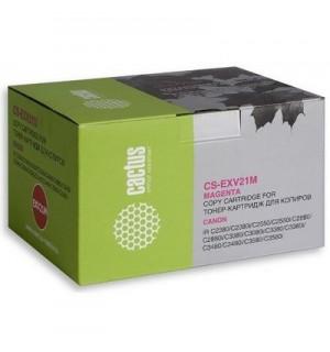 C-EXV21M Совместимая Тонер-туба Cactus CS-EXV21M для Canon iR-2380i/ iR C2880/ iR C2880i/ iR C3380 /
