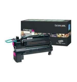 C792X1MG Лазерный картридж Lexmark C792 Magenta Extra High Yield Return Program