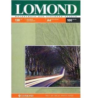 130 Бумага LOMOND A4 INC JET 130 г/ м2 100 л. матовая двухсторонняя [0102004]