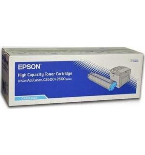 S050228 Тонер-картридж Epson AcuLaser 2600N, C2600N, Cyan (5000стр.)