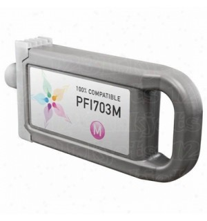 PFI-703M [2965B001] Картридж для CANON IPF810/ 820/ 825, (700 мл), Magenta