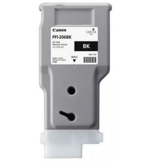 PFI-206bk (Black) [5303B001] Картридж с чернилами для плоттера Canon iPF6400/6450 (300 мл)