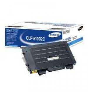 CLP-510D2C Samsung Голубой тонер-картридж, 2000 стр.