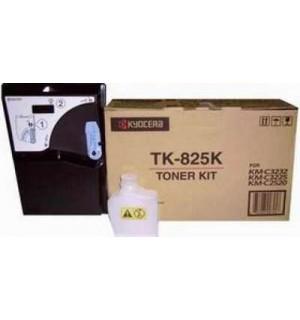 TK-825K [1T02FZ0EU0] Тонер-картридж для Kyocera  Kyocera KM-C2520/ KM-C2525E/ KM-C3225/ KM-C3232/ KM