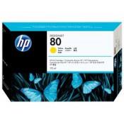 C4873A HP 80 Картридж малый HP для DJ 10...