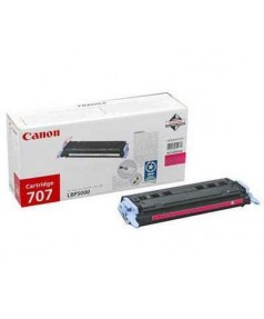 Canon Cartridge 707M [9422A004] Картридж для Canon Laser Shot LBP5000, LBP5100 (2000 стр.) Magenta