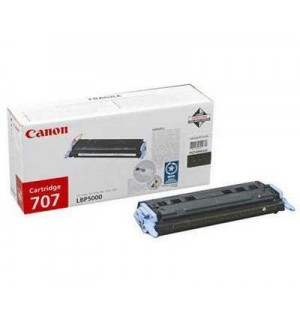Canon Cartridge 707Bk [9424A004] Картридж для Canon Laser Shot LBP5000, LBP5100 (2500 стр.) черный