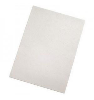 Обложки для переплёта задние A4, тиснение под кожу, цвет белый, 250 г/кв.м, Hama (25 шт.) H-52616
