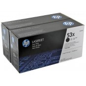 Q7553XD HP 53X Двойная упаковка картридж...