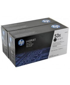 Q7553XD HP 53X Двойная упаковка картриджей для HP LJ P2014/2015 (по 7000 стр.)