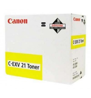 C-EXV21Y [0455B002] Тонер-туба к копирам Canon iR-2380i/ iR C2880/ iR C2880i/ iR C3380 / iR-3080/ iR-C3080i/ iR C3380i/ iR-3580/ iR-3580i Yellow