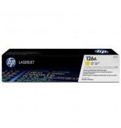 CE312A HP 126A Kартридж желтый для HP LJ PRO100/ CP1012/ CP1025/ CP1025NW/ M175/ M275 (1000стр)