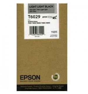 T6029 / T602900 Картридж для Epson Stylus Pro 7800/ 9800, Light-Light-Black (110 мл.)