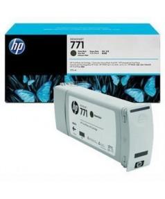 B6Y07A/ CE037A Картридж №771 матово черный для плоттера HP DesignJet Z6200, Z6600, Z6800 (775 ml) Matte black