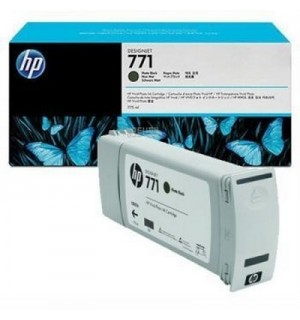 B6Y07A/ CE037A HP 771 Картридж матово черный для плоттера HP DesignJet Z6200, Z6600, Z6800 (775 ml) Matte black
