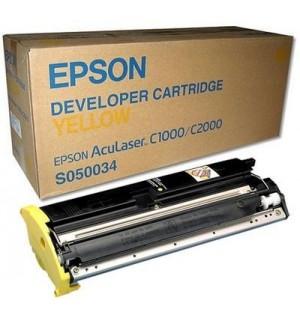 S050034 (C13S050034) Картридж для Epson  AcuLaser C2000/C1000 Yellow 6000 стр.